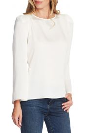 Vince Camuto Long Sleeve Satin Blouse   Nordstrom at Nordstrom