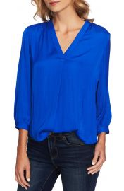 Vince Camuto Rumple Fabric Blouse   Nordstrom at Nordstrom