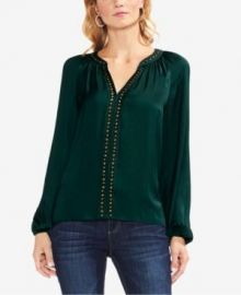 Vince Camuto Studded Top   Reviews - Tops - Women - Macy s at Macys