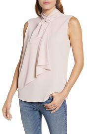 Vince Camuto Tie Neck Blouse   Nordstrom at Nordstrom