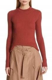 Vince Mixed Rib Stitch Sweater at Nordstrom