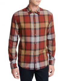 Vince Plaid Shirt at Neiman Marcus