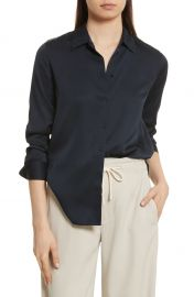 Vince Slim Silk Blouse   Nordstrom at Nordstrom