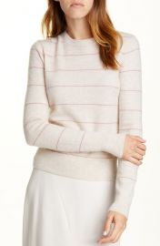 Vince Stripe Cashmere Sweater at Nordstrom