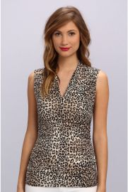 Vince Camuto Desert Leopard Top at Zappos