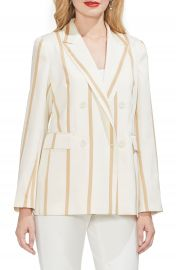 Vince Camuto Dramatic Stripe Double Breasted Blazer  Regular  amp  Petite    Nordstrom at Nordstrom