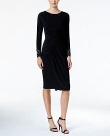 Vince Camuto Embellished Sheath Dress at Macys