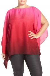 Vince Camuto Ombr   Poncho Top  Plus Size    Nordstrom at Nordstrom