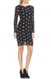 Vince Camuto Paisley Estate Mesh Body-Con Dress   Nordstrom at Nordstrom