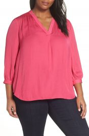 Vince Camuto Rumple Fabric Blouse  Plus Size    Nordstrom at Nordstrom