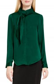 Vince Camuto Side Neck Scarf Blouse at Nordstrom