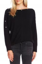 Vince Camuto Snap Trim Dolman Sleeve Sweater   Nordstrom at Nordstrom