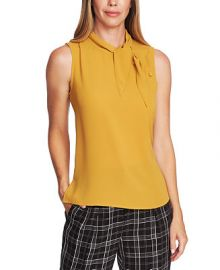Vince Camuto Tie-Neck Button Blouse   Reviews - Tops - Women - Macy s at Macys