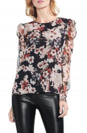 Vince Camuto Timeless Blooms Top  Regular  amp  Petite at Nordstrom