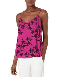 Vince Camuto Women s Iris Silhouettes Lace Back Cami at Amazon