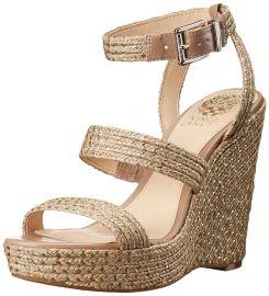 Vince Camuto Women s Melisha Wedge Sandal at Amazon