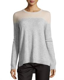 Vince Cashmere Colorblock Sweater at Last Call