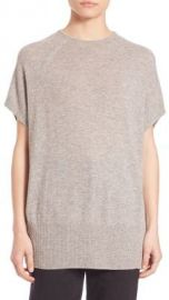 Vince Cashmere Short Sleeve Pullover at Saks Off 5th