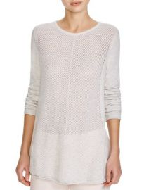 Vince Chevron Stitch Cashmere Sweater at Bloomingdales