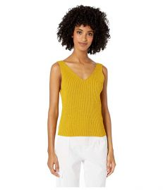 Vince Directional Rib Tank Top at Zappos