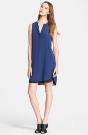 Vince Double Layer Shift Dress at Nordstrom