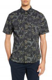 Vince Floral Slim Fit Sport Shirt   Nordstrom at Nordstrom