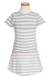 Vince French Terry Short Sleeve Dress at Nordstrom