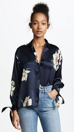 Vince Gardenia Floral Blouse at Shopbop