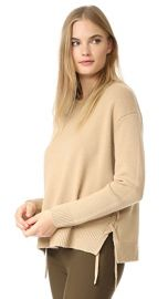 Vince Lace Up Sweater at Shopbop