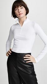 Vince Long Sleeve Half Zip Pullover at Shopbop