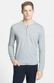 Vince Long Sleeve Knit Henley at Nordstrom