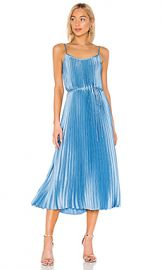 Vince Pleated Cami Dress in Blue Pumice from Revolve com at Revolve