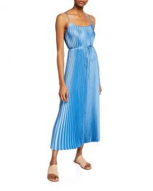 Vince Pleated Cami Maxi Dress at Neiman Marcus