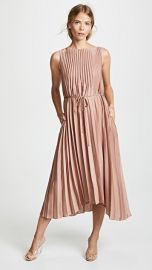 Vince Pleated Dress at Shopbop