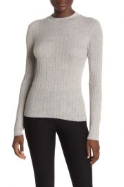 Vince Ribbed Cashmere Top at Nordstrom Rack