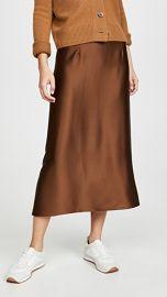 Vince Satin Slip Skirt at Shopbop