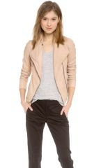 Vince Scuba Leather Jacket at Shopbop