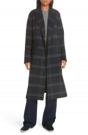 Vince Shadow Plaid Coat   Nordstrom at Nordstrom