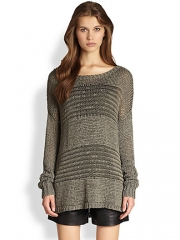 Vince Shadow Stripe Sweater at Saks