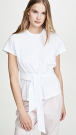 Vince Short Sleeve Wrap Tee at Shopbop