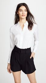 Vince Slim Fitted Blouse at Shopbop
