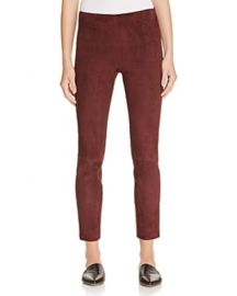 Vince Stretch Suede Pants at Bloomingdales