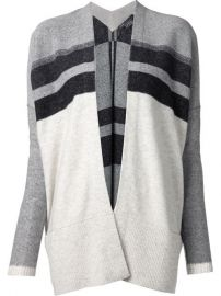Vince Striped Cardigan - Changing Room at Farfetch