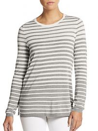 Vince Striped Cashmere Sweater at Saks Off 5th
