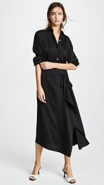 Vince Tie Front Shirtdress at Shopbop