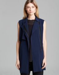 Vince Vest - Laser Cut Trench at Bloomingdales