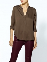 Vince silk blouse at Piperlime at Piperlime
