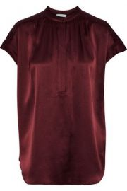 Vince silk satin blouse at The Outnet