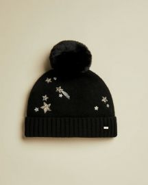 Viniy Star Embellished Wool Blend Hat at Ted Baker