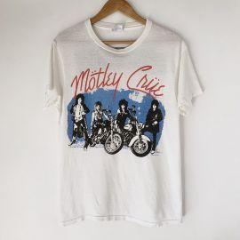 Vintage 1987 Motley Crue Tour Tee by Hop Vintage at Etsy at Etsy